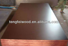 Linyi black/brown film faced marine plywood with CE/CARB,FSC
