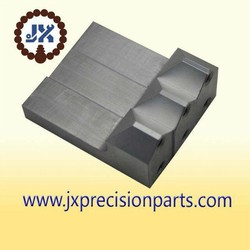 Feeding of block high quality aluminium alloy CNC machine processing precision custom parts