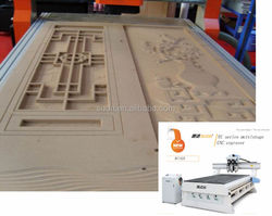 SUDA WOOD CARVING CNC ROUTER 4*8 FEET -EC1325 3 SPINDLE MOTOR