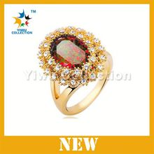 2015 new products gold Diamond Ring,gemstone ring,latest gold ring designs