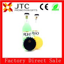 CE&ROHS Beer cap 8.1CM tom Bottle Opener & Fridge Magnet with your logo/plastic bottle opener 5%OFF opener-0009