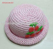 NTS101106-033 Fashion children hat/ Straw hat/kids paper hat