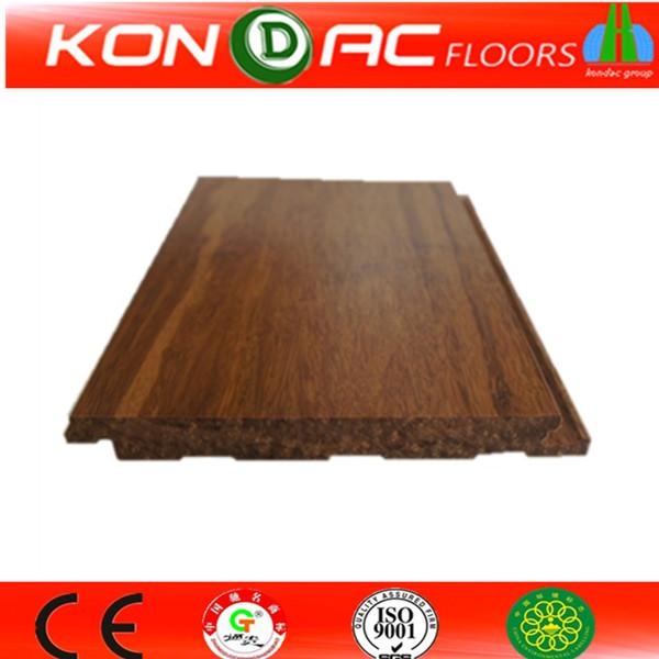 Populares decoraci n de interiores bamb suelo de parquet - Suelo de bambu ...