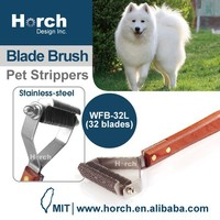 Easy Grooming undercoat Rake Brush Pet Stripper DeShedding Tool