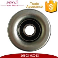 High quality idle pulley for Fortuner/ Hilux/ Innova oem 16603-0C013