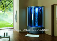 Blue glass Steam room shower room FS-8010L with ISO,CE,SAA,ETC,CB