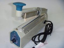 impulse heat sealer SF200AC With Edge Cutting heat sealer plastic sealer