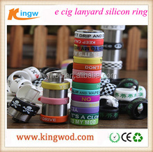 Hottest e cig ring silicone anti-sliding for mod anti-slip silicon vape band beauty covering rubber ring
