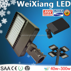 High quality samsung 3030 led Meanwell driver, parking lot led light