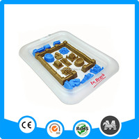 Hot sale inflatable sand tray for kids