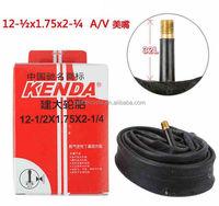 12*1/2*1.75*2-1/4 A/V 32MM butyl rubber children bike inner tubes