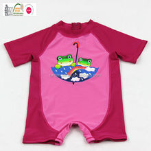 2015 newest floating children UV protection swimwear, Lovely girl's One Piece Swimsuits, High Quality girls UV sunsafe