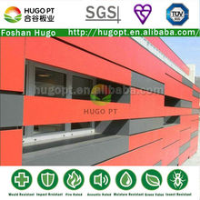 Pré-fabricados de fibra de cimento revestimento externo da parede do painel de fornecedor em foshan( d)