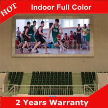 Shenzhen LED Display for Basketball indoor hall P7.62 Indoor full color video China factory