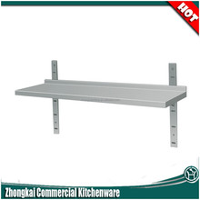 office&home metal small stainless steel display shelf