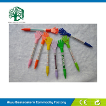 National Flag Ring Pen, Retractable Pull Out Pen, Cheap Pull Out Pen