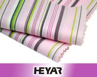 Combed Cotton Coloful Stripe Yarn Dyed Stretch Poplin Fabric