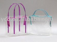 New Products Clear Plastic Women Promotions PVC Shopping Bag