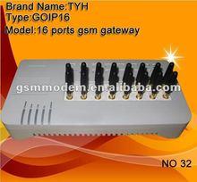 IMEI Auto Change /1/4/8/16 channels goip GSM Gateway/voice over ip gateway