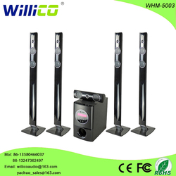Willico 5.1 wireless speaker home karaoke theater system with bluetooth whm-5003