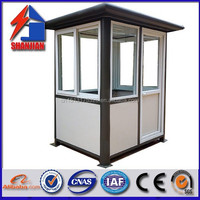 portable small security guard house for Africa made in china