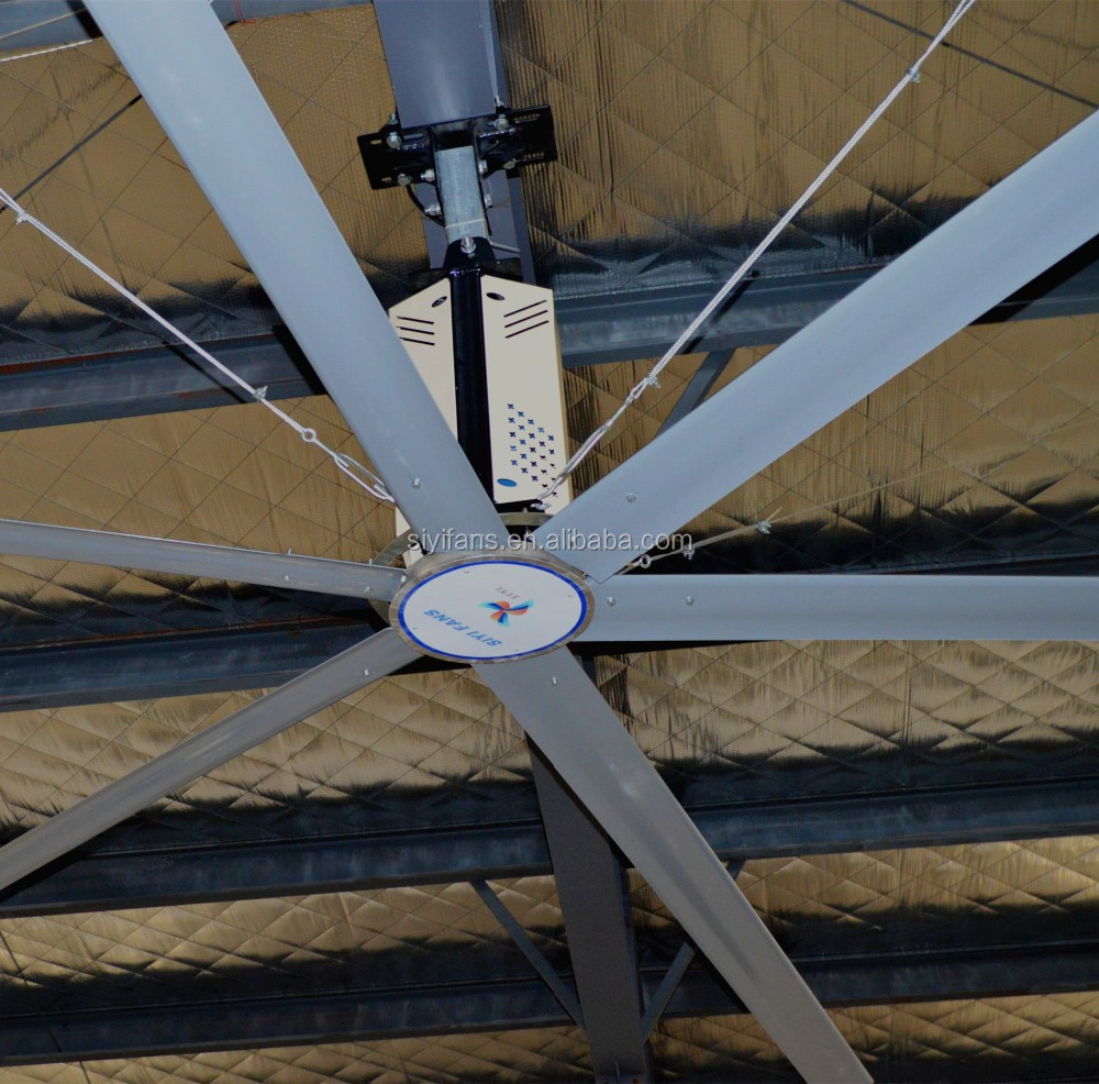 16ft Industrial Giant Ceiling Fan With 6 Blades