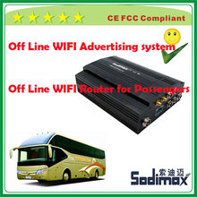 Novel passenger bus free WIFI surf the internet system