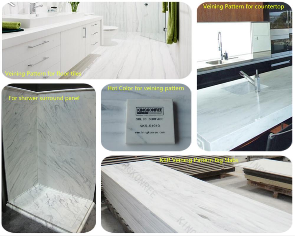 Kkr Best Material Shower Walls Solid Surface Shower Wall Panels - Best product for shower walls