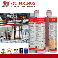 Modified epoxy grouting adhesive for wall steel bar strong crack repair