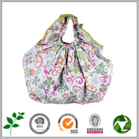 Wholesale hot selling folding PVC shopping cart bags with logo