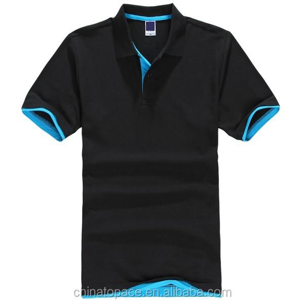 Cotton new design mens polo shirt custom golf shirt china for Custom golf polo shirts