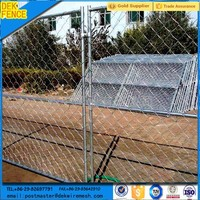 Chain Link Temporary Removing Fence