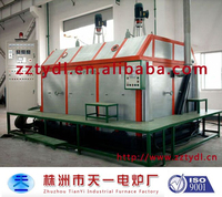 Hot air recycling furnace with roof type for rotary drying and baking process of large electrical machine stator and rotor lacqu