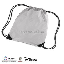 Budget Polyester Drawstring Backpack Bookpack Bag