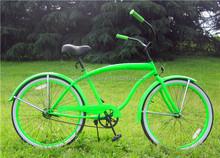Utility Bicycle Type Aluminum Alloy Rim steel Material Beach Cruiser