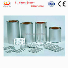 Stable quality and reasonable price opa/al/ pvc pharmaceutical /alu alu blister foil packing