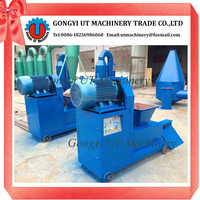 Waste wood chips charcoal briquettes press making machine to make BBQ charcoal