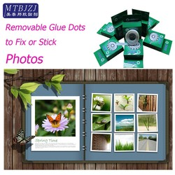 Removable Glue Dots for Fixing and Sticking Photos