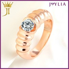 Professional Jewelry Factory Supply Crystal passion ring