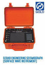 Geophysical surveying meter DZQ6B Engineering Seismograph (Surface Wave Instrument)