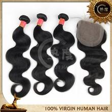 Wholesale 100 percent natural black russian hair weave body wave virgin russian hair wholesale accept paypal