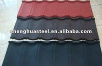 Colorful Sand Coated Aluminum Metal Roofing Tile