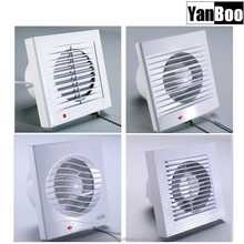 CE Certified ABS Plastic ceiling mounted ventilation fan, kitchen wall exhaust ventilation fan
