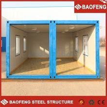 easy unloading prefabricated office equipment shop