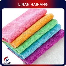 China OEM manufacture Microfiber 100% bamboo fabric bamboo clean towel