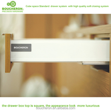 Venus height 85mm kitchen double walled drawer box system with silent and soft closing