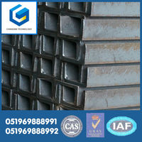 Jangsu steel manufacturing company cell Q235 van only channel steel 8#