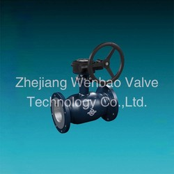 Gear operated Fully welded flange type ball valve,gas ball valve,Gost Standard ball valve china exporter