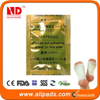 Japanese healthcare bamboo detox foot patch, foot care