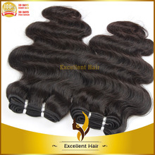 Wholesale Unprocessed 100% virgin Brazilian human hair remy virgin natural color 1b body wave hair braid